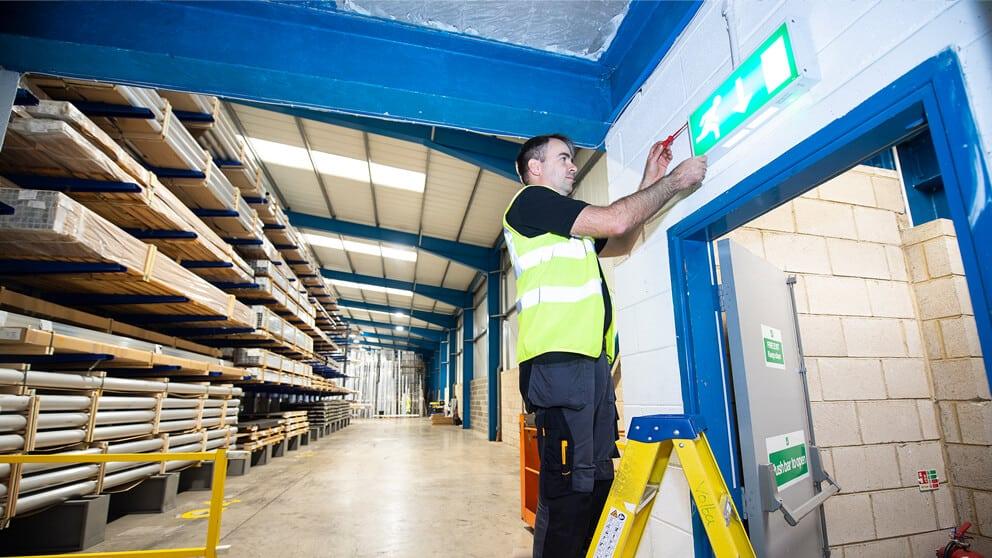 Emergency Light Testing Leeds