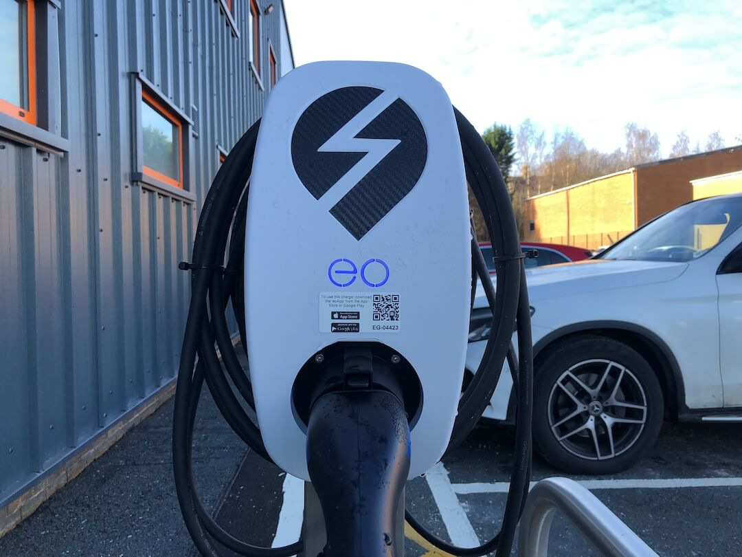 Ev Charger Installation For Thorite New Hq In Bradford 2