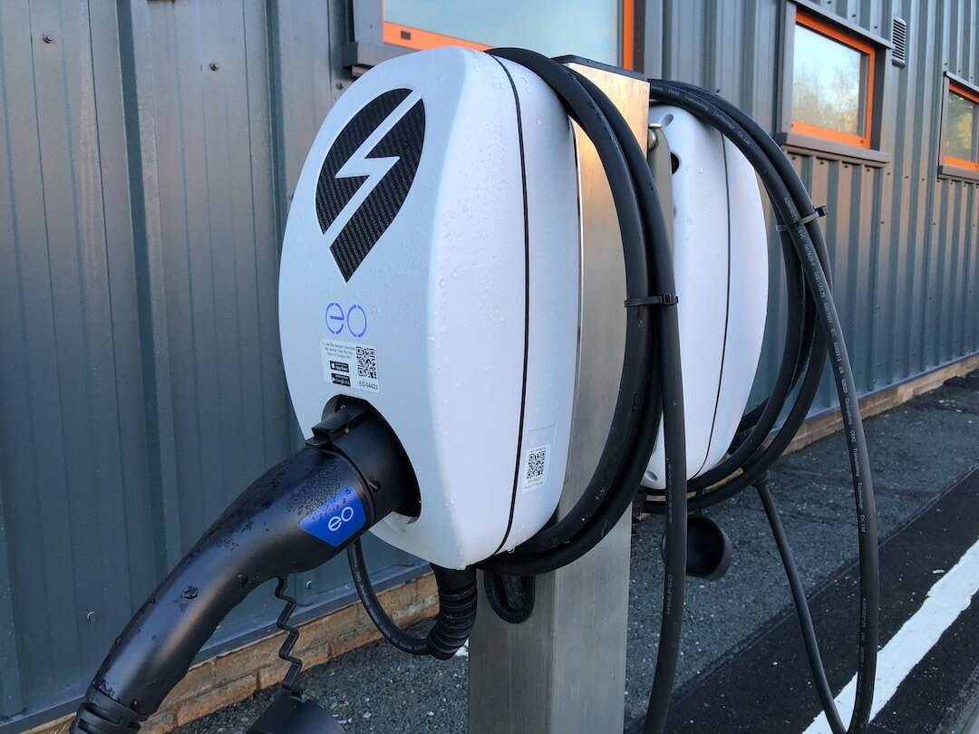 Ev Charger Installation For Thorite New Hq In Bradford 3