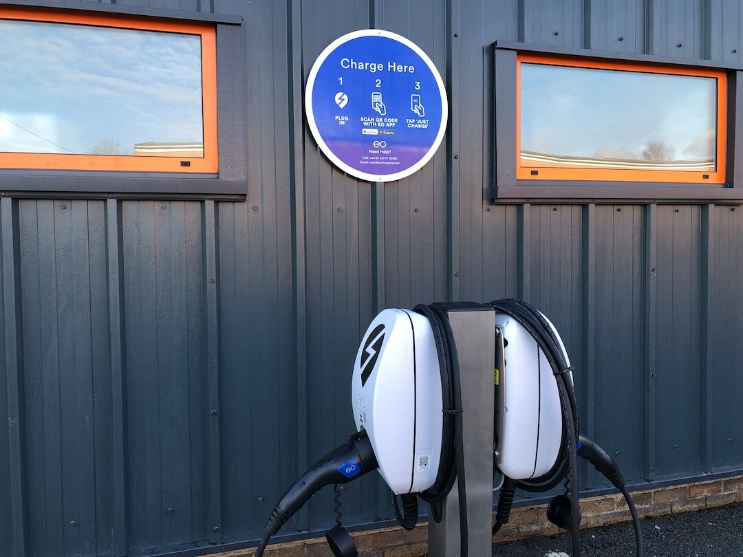 Ev Charger Installation For Thorite New Hq In Bradford 4