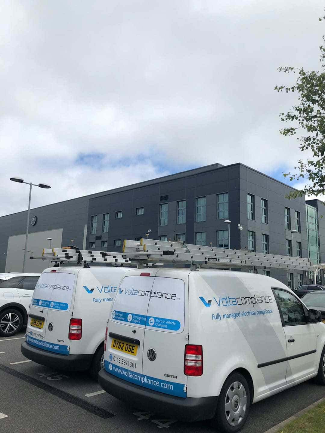 Electrical Compliance Services For P&b Foods In Bradford 1