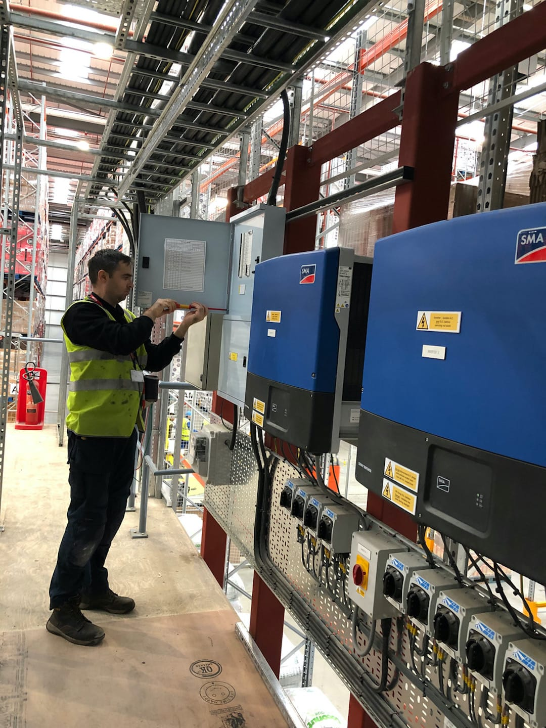 Electrical Compliance Services For P&b Foods In Bradford 4