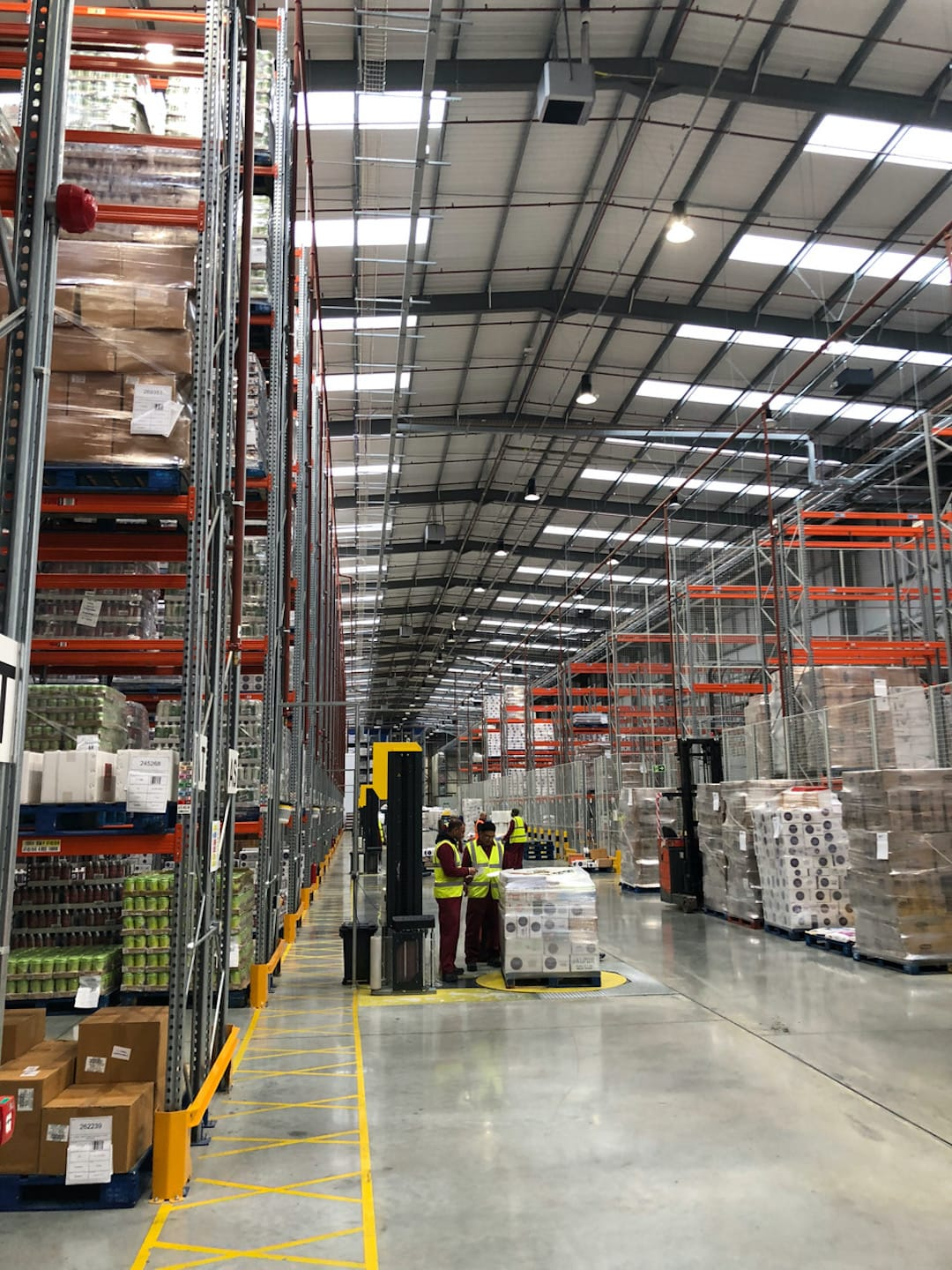 Electrical Compliance Services For P&b Foods In Bradford 5