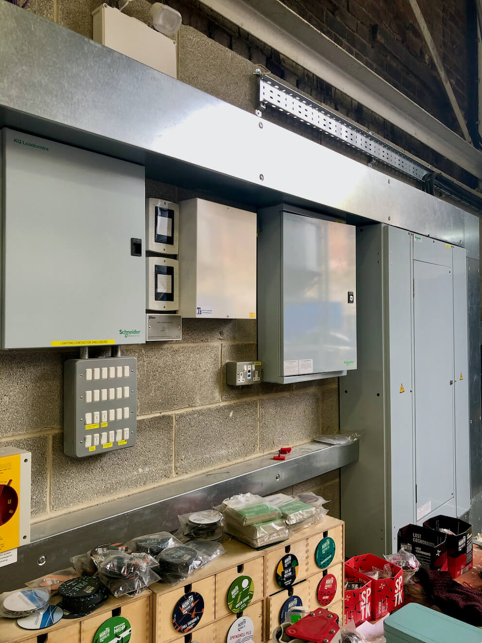 electrical design & installation services for north brewing co 1