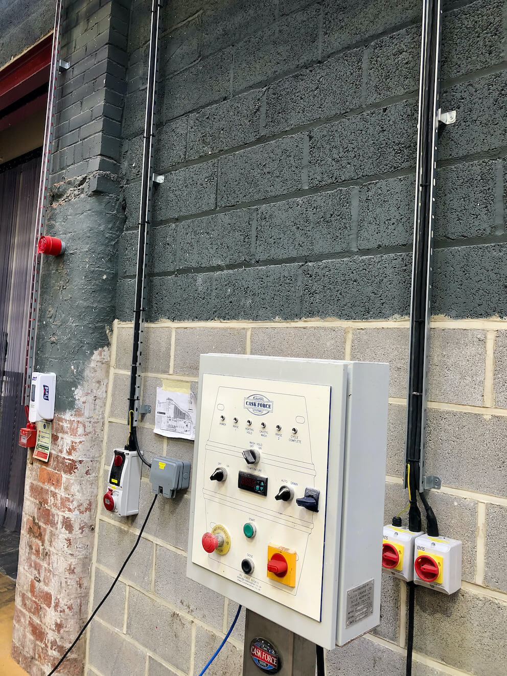electrical design & installation services for north brewing co 5