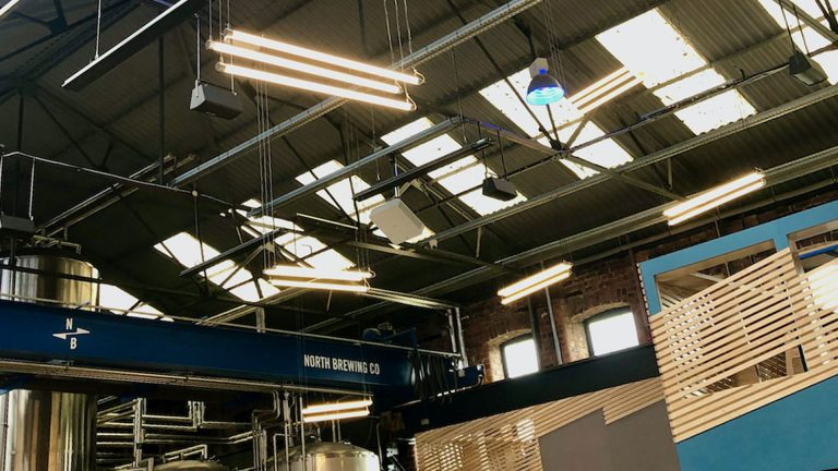 north brewing co electrical design and installation