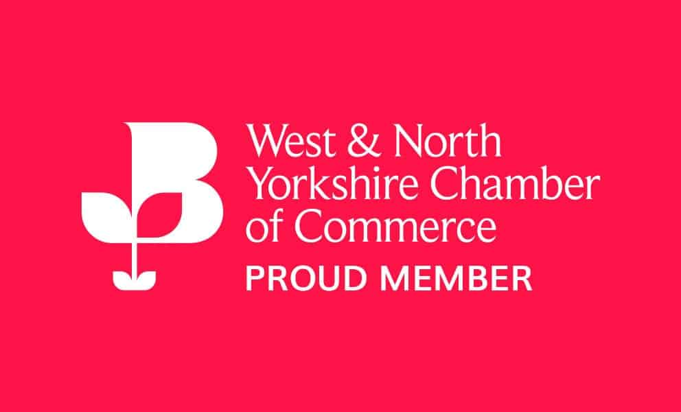 we've joined the west & north yorkshire chamber of commerce